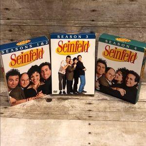 Seinfeld Seasons 1-4 Boxes sets